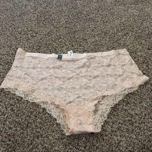 Torrid High Waist Lace Cheeky Panties